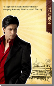 shah rukh khan motivation