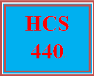 hcs 440 week 3 funding health care services