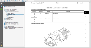 nissan frontier d40 2018 service & repair manual & wiring diagram
