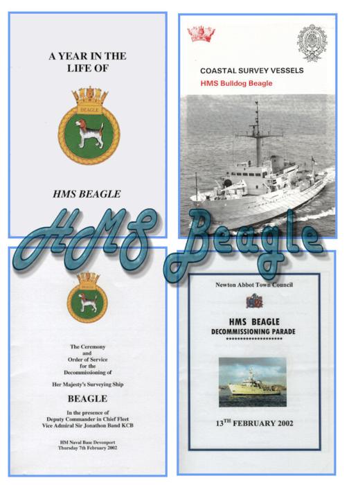 First Additional product image for - HMS Beagle Four Books - Royal Navy Fleet Survey Vessel HMS Beagle