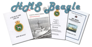 hms beagle four books - royal navy fleet survey vessel hms beagle