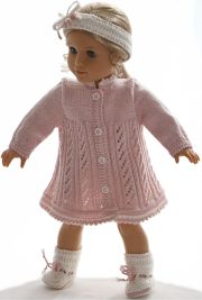 dollknittingpattern 0179d alison - dress, pants, hairband and socks-(english)