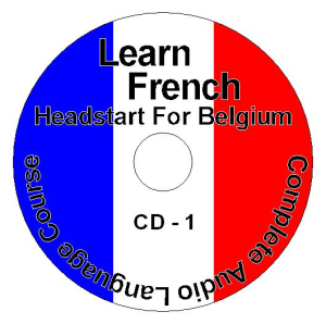 learn how to speak french headstart for belgium language course tutorial full mp3 audio book - pdf included - 18 cd pack