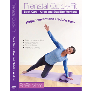 Prenatal Quick-Fit Back Care Workout | Movies and Videos | Fitness