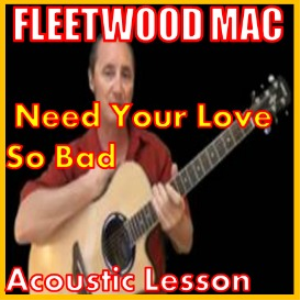 learn to play need your love so bad by fleetwood mac