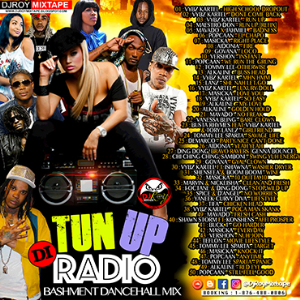 dj roy tun up di radio bashment dancehall mix
