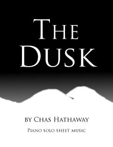 The Dusk sheet music   eBooks   Sheet Music