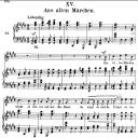 Aus alten Märchen, Op.48 No.15, High Voice in E Major, R. Schumann (Dichterliebe), C.F. Peters   eBooks   Sheet Music