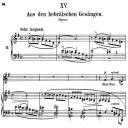 Aus den Hebraïschen Gesängen, Op.25 No.13, High Voice in E minor, R. Schumann (Myrthen), C.F. Peters | eBooks | Sheet Music