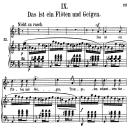 Das ist ein Flöten und Geigen, Op.48 No.9 High Voice in D minor, R. Schumann (Dichterliebe), C.F. Peters | eBooks | Sheet Music