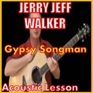 learn to play gypsy songman by jerry jeff walker
