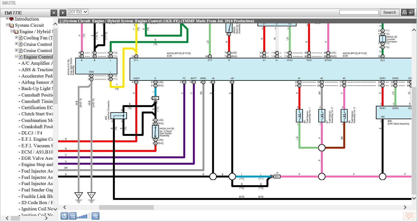 toyota yaris 2012-2017 ewd electrical wiring diagrams | ebooks, Wiring diagram