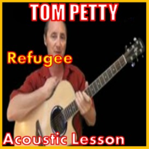 learn to play refugee by tom petty
