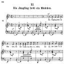 Ein jüngling liebt ein mädchen, Op.48 No.11, High Voice in E-Flat Major, R. Schumann (Dichterliebe) | eBooks | Sheet Music