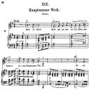 Hauptmanns Weib, Op.25 No.19, High Voice in E minor, R. Schumann (Myrthen), C.F. Peters | eBooks | Sheet Music