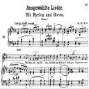 Mit Myrthen und Rosen Op.24 No.9 , High Voice in D Major, R. Schumann, C.F. Peters | eBooks | Sheet Music