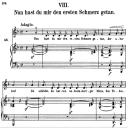 Nun hast du mir den ersten schmerz getan, Op.42 No.8 , High Voice in D minor, R. Schumann (Frauenliebe und Leben), C.F. Peters   eBooks   Sheet Music