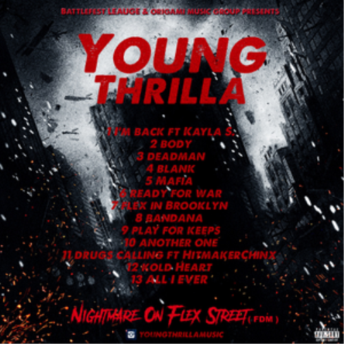 Second Additional product image for - Young Thrilla Nightmare On Flex Street