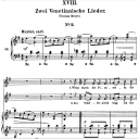 Venetianisches Lied II Op.25 No.18, High Voice in G Major, R. Schumann (Myrthen), C.F. Peters | eBooks | Sheet Music