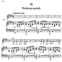 Waldesgeschprâch Op.39 No.3, High Voice in E Major, R. Schumann (liederkreis), C.F. Peters | eBooks | Sheet Music