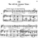 Was will die einsame Träne Op.25 No.21, High Voice in A Major, R. Schumann (Myrthen), C.F. Peters | eBooks | Sheet Music