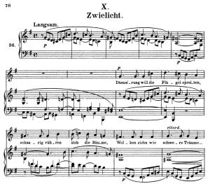 Zwielicht Op.39 No.10, High Voice in E minor, R. Schumann (liederkreis), C.F. Peters | eBooks | Sheet Music