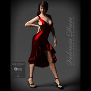 Valencia Dress for Genesis 8 Female | Software | Design
