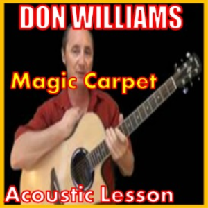 learn to play magic carpet by don williams