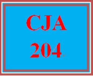 CJA 204 Week 4 Truth-in -Sentencing Debate   eBooks   Education