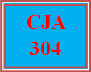 cja 304 week 2 effective communication in criminal justice settings assignment
