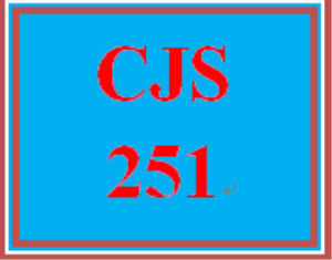 CJS 251 Week 3 Courtroom TV Paper | eBooks | Education