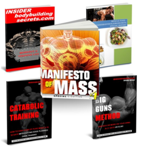 the manifesto of mass -bodybuilding bundle
