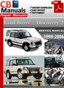 land rover discovery 2 1999-2006 service repair manual