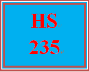 HS 235 Week 2 Policy Brief | eBooks | Education