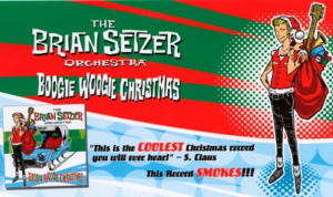 Boogie Woogie Santa Claus (Brian Setzer) for vocals and big band | Music | Popular