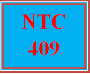 NTC 409 Week 3 Individual Cloud Use and Network Availability | eBooks | Education