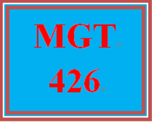 mgt 426 week 2 learning team charter