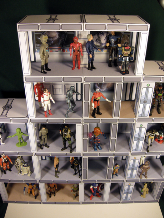 Third Additional product image for - 2 PACK SPECIAL! Print & Build Your Own Space Station & Military Playsets