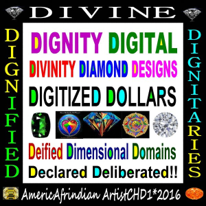 Dignity Digital Divinity Diamond Design | Photos and Images | Digital Art