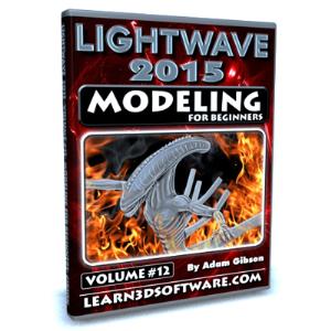 lightwave 2015-volume #12- modeling for beginners