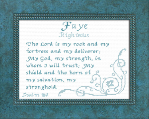name blessings - faye 2