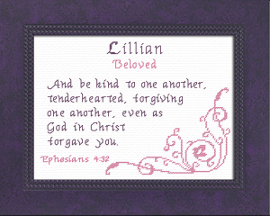 name blessings - lillian 2