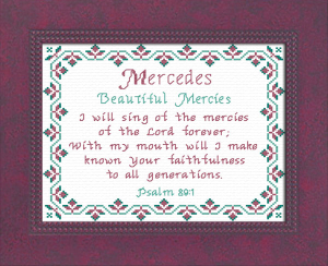 name blessings - mercedes