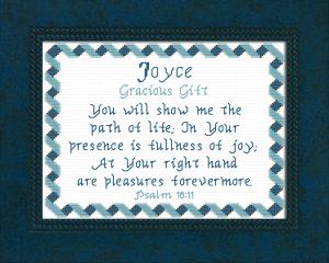 name blessings - joyce