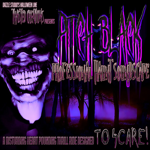 First Additional product image for - Pitch Black Professional Haunt Soundscape CD By Twisted Creations