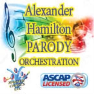 "alexander hamilton parody ""jesus christ of nazareth"" orchestration"