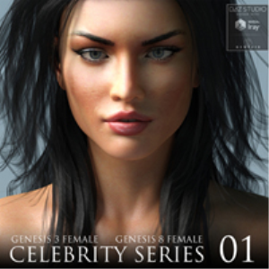 Celebrity Series 01 for Genesis 3 and Genesis 8 Female | Software | Design