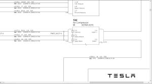 tesla model x electrical wiring diagrams 2017