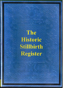 Historic Stillbirth Register | eBooks | Reference