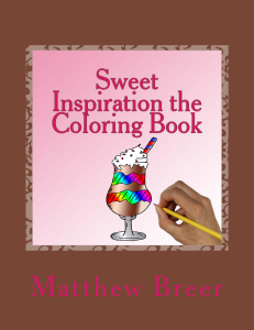 sweet inspiration the coloring book